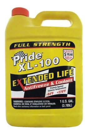 Антифриз PRIDE XL-100 EXTENDED LIFE G13 оранжевый концентрат 3.785л