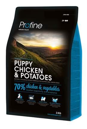 Сухой корм для щенков Profine Puppy Chicken & Potatoes, курица, картофель, 3кг