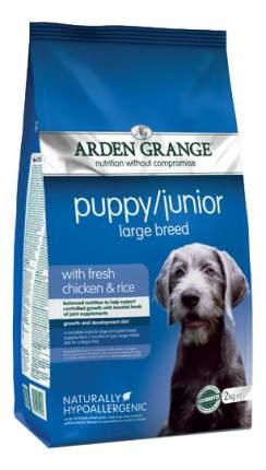 Сухой корм для щенков Arden Grange Puppy/Junior Large Breed, цыпленок, 2кг
