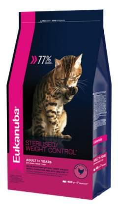 Сухой корм для кошек Eukanuba Sterilised/Weight Control, курица, 0,4кг