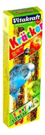 Лакомство для волнистых попугаев Vitakraft крекеры фруктовые, 2 шт