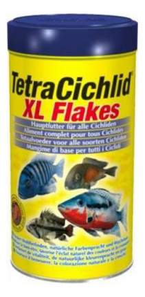 Корм для всех видов цихлид Tetra Cichlid XL Flakes, хлопья, 1 л