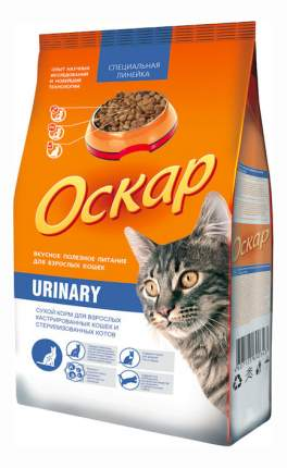 Сухой корм для кошек Оскар Urinary для стерилизованных при МКБ, домашняя птица, 10кг