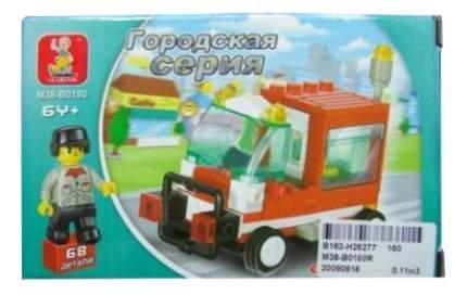 Конструктор пластиковый Sluban Рабочий автомобиль