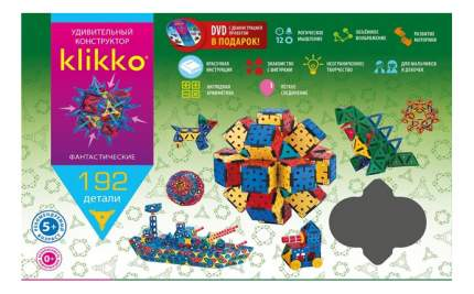 Конструктор пластиковый ЗНАТОК Klikko 192 детали
