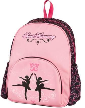 Рюкзак малый Сладкая гармония розовый с чёрным 17897