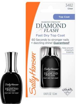 Быстросохнущее верхнее покрытие SALLY HANSEN Diamond Flash Fast Dry Top Coat