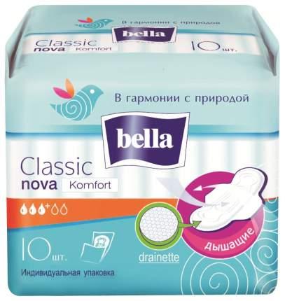 Прокладки Bella Classic Nova Komfort 10 шт