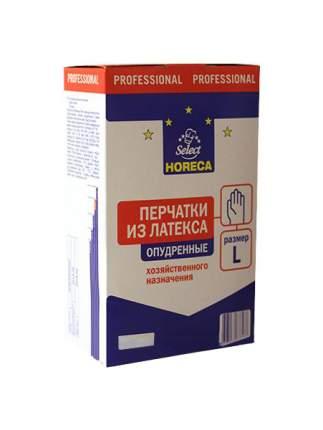 Перчатки для уборки Horeca Select латекс опудренные размер L 100 шт