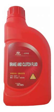 Тормозная жидкость Hyundai-KIA 1л 01100-00100