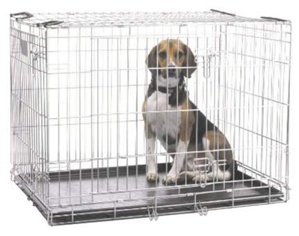 Клетка для собак Savic DOG RESIDENCE металл, 61x71x91см