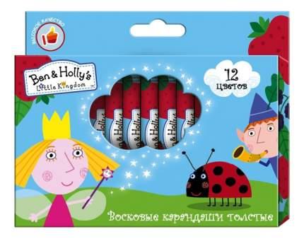 Восковые мелки Ben & Holly's Little Kingdom Восковые карандаши 12 цветов