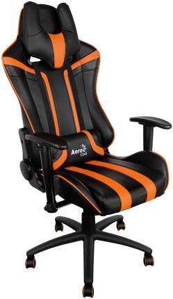 Игровое кресло AeroCool AC-120 AC120-BO, черный/оранжевый