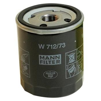 Фильтр масляный двигателя MANN-FILTER W712/73
