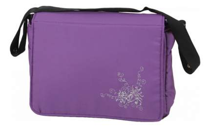 Дорожная сумка для коляски Лео Алиса с матрасиком Сиреневый