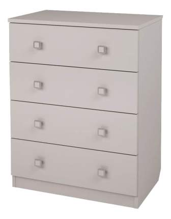 Комод детский Polini Simple c 4 ящиками белый