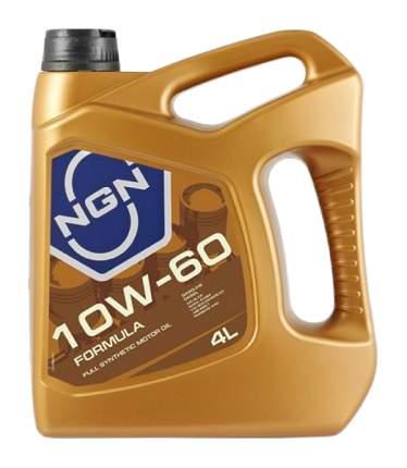 Моторное масло NGN Formula 10W-60 4л