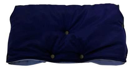 Муфта для рук мамы на детскую коляску Чудо-Чадо Флисовая (кнопки) синий