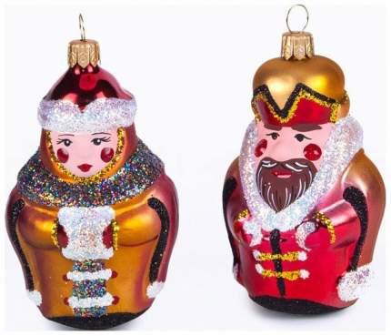 Набор елочных игрушек Елочка Славяне разноцветный C1226