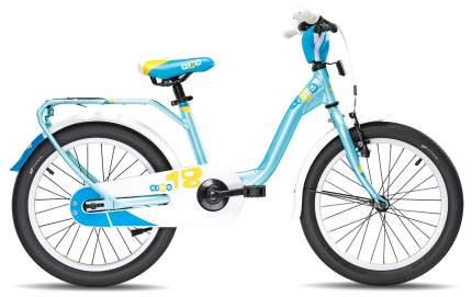 Велосипед Scool niXe 18 alloy 2017 One size голубой девочка