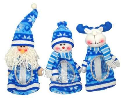 Фигурка под елку Winter Wings Мешок для подарков Новогодние герои 3 вида 25 см