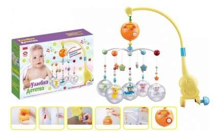 Мобиль электрический Shantou Gepai Улыбка детства - Малыши ZYA-A1817-1