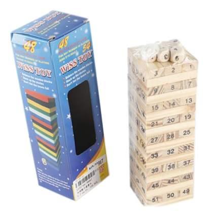 Семейная настольная игра Shantou Gepai Падающая башня 631221