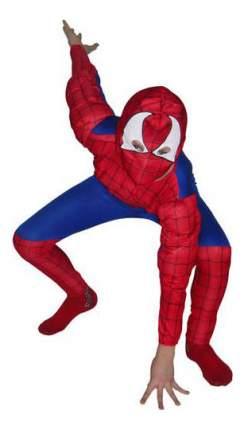 Snowmen Карнавальный костюм человек паук с мускулатурой 125 140 см Snowmen