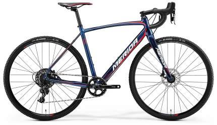 "Велосипед Merida Cyclo Cross 600 2018 19.5"" синий"
