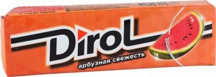 Жевательная резинка Dirol арбузная свежесть 13.6 г