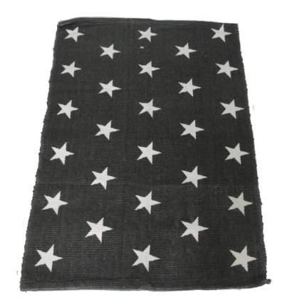 Коврик текстильный Ricotio Звёзды серый