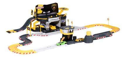 Игровой набор Majorette Парковка Creatix Lamborghini и 2 машинки