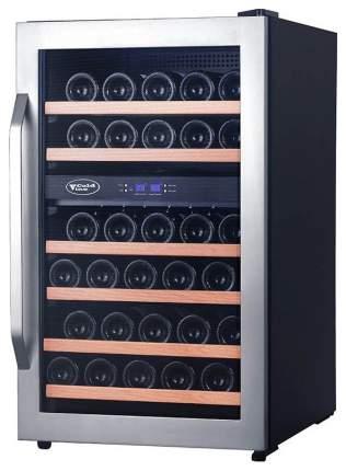 Винный шкаф Cold Vine C34-KSF2 Silver