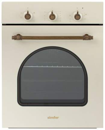 Встраиваемый электрический духовой шкаф Simfer B4EO16017 Beige
