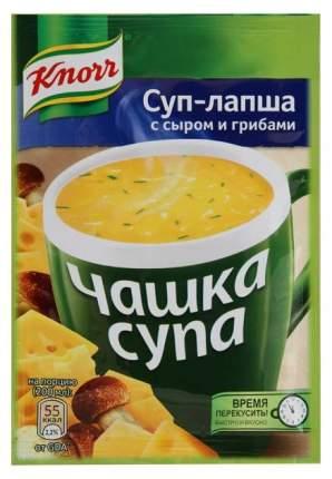 Суп-лапша Knorr чашка с сыром и грибами сухая смесь 15.5 г