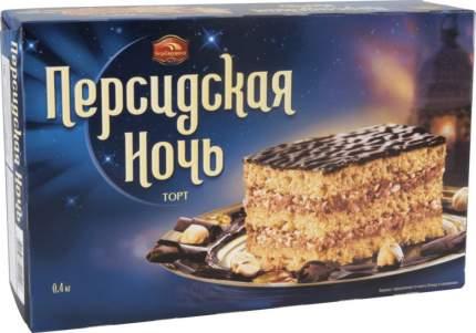 """Торт """"Персидская ночь"""" песочный с фундуком 400г/Черемушки/Вкус знакомый с детства."""