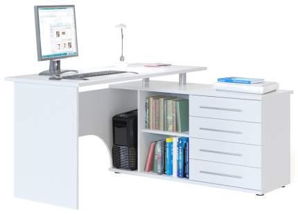 Компьютерный стол СОКОЛ КСТ-109Л, белый