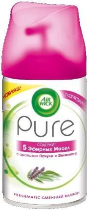 Сменный баллон Air Wick Pure 5 эфирных масел с ароматом пачули и эвкалипта 250 мл