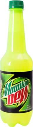 Напиток газированный Mountain Dew пластик 0.5 л