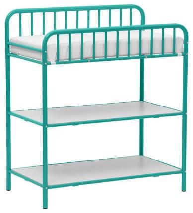 Столик для пеленания Polini Kids Vintagе 1180 металлический, Бирюзовый