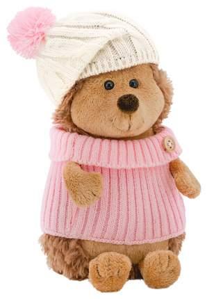 Мягкая игрушка Orange Toys Ежинка Колючка в шапке с розовым помпоном 15 см Life