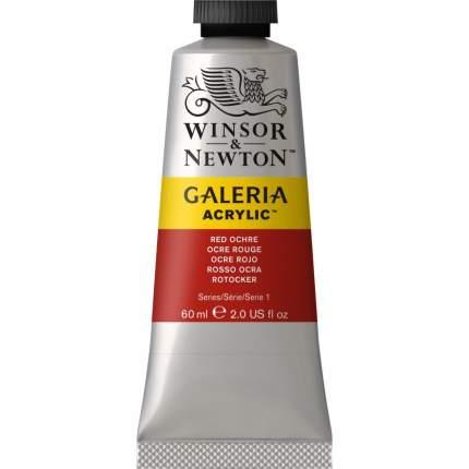 Акриловая краска Winsor&Newton Galeria красная охра 60 мл