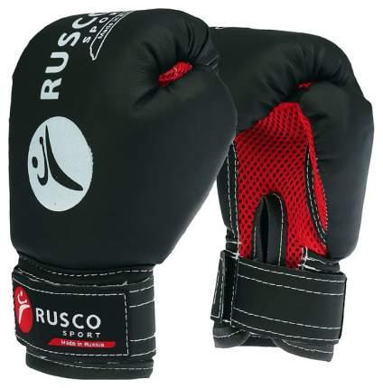 Боксерские перчатки детские Rusco Sport синие/черные 4 унции