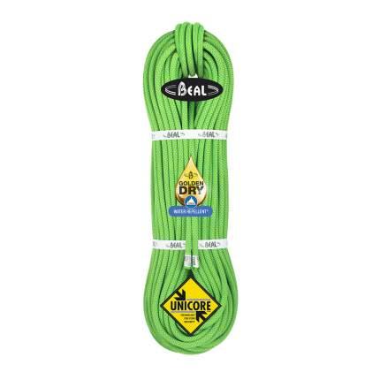 Веревка динамическая Beal Opera Golden Dry 8,5 мм, зеленая, 60 м