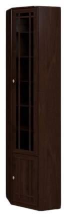 Шкаф книжный Глазов мебель Sherlock 33 GLZ_T0010709 55,1х55,1х239,5, орех шоколадный