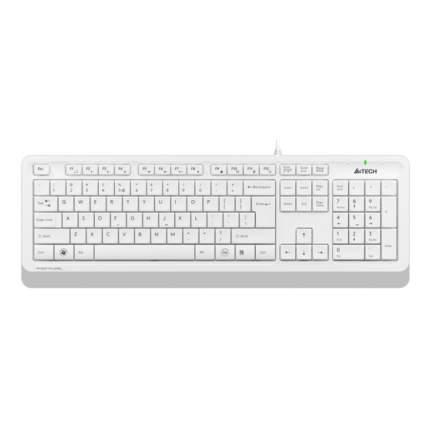 Клавиатура A4Tech FK10 White/Grey