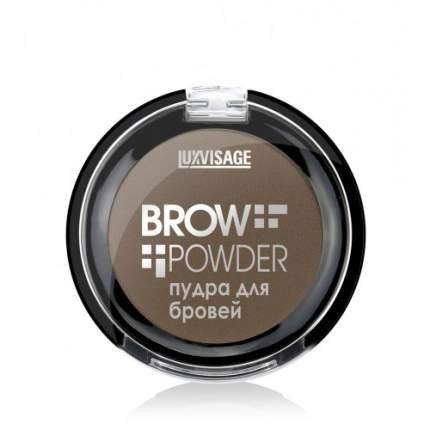 Пудра для бровей Luxvisage Brow Powder тон 3 Grey Brown