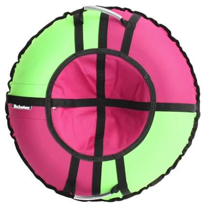 Тюбинг Hubster Хайп розовый-салатовый 120 см
