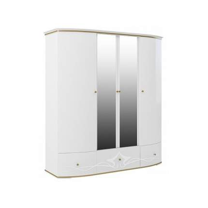 Платяной шкаф Мебель-Неман Либерти МН-313-04 NEM_MN-313-04 206x68x223, белый