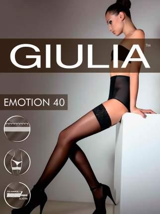 Чулки женские Giulia бежевые 3-4/M-L